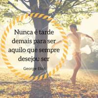 Sonhe com frequência, alcance sempre! #ahazou #Georgeeliot #motivação