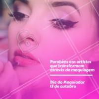 Celebre a sua data com muita make! #diacomemorativo #ahazou #maquiador #diadomaquiador #make