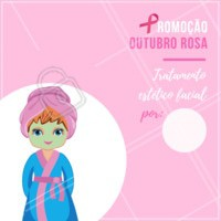 Aproveite esse desconto exclusivo para o mês de outubro! #esteticafacial #ahazou #promocao #desconto #outubrorosa