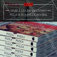 Aproveite para pedir aquela pizza quentinha! #pizza #ahazou #delivery #alimentacaoahz #food #pizzaria
