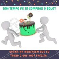 Um aniversário não é o mesmo sem um bolo! 🎂 #bolo #ahazou #festa #alimentacaoahz #aniversario #entregas #confeitaria
