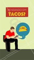 Aproveite para fazer o seu pedido! #mexicano #ahazou #tacos #delivery #alimentacaoahz