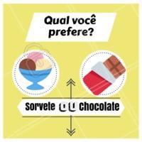 Qual seu preferido? #stories #sorvete #chocolate #ahazou #alimentacao