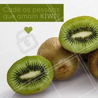 A fruta é altamente nutritiva, possui mais vitamina C e magnésio que qualquer fruta, além de ser rica em potássio. Adicione ela em sua dieta diaria! #saude #ahazou #dieta #fruta #kiwi #alimentacao