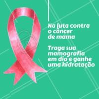 Participe! Vamos aumentar a conscientização do câncer de mama e destacar a importância do auto-exame e visitas regulares ao médico para prevenção da doença. #outubrorosa #ahazoucabelo #cabelo #cabeleireiro #salaodebeleza
