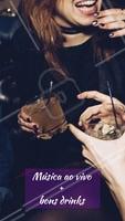 Uma combinação perfeita! Bora? #bar #ahazoualimentaçao #happyhour #drinks #musicaoavivo #show #musica #bebida