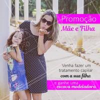 Marque agora o seu tratamento para ganhar o presente! #promocao #ahazou #diadascriancas #maeefilha