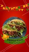 Vai um triplo de taco aí? 😋 Peça o seu que temos delivery! #mexicano #ahazou #delivery #alimentacaoahz #food