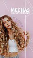 Quem ama? 😍 Já agendou o seu horário? #mechas #ahazoucabelo #cabelo #cabeleireiro