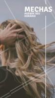 Venha iluminar os fios! Agende o horário das suas mechas ☎️ #mechas #loiro #ahazoucabelo #cabelo #cabeleireiro