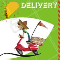 Se te der preguiça de cozinhar lembre que você pode pedir os seus tacos! 🌮 #mexicano #ahazou #delivery #tacos