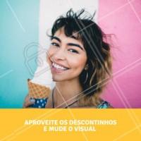 Venha mudar o visual com a gente! Entre em contato para saber mais sobre a promoção. #cabelo #ahazou #visual #mudanca #hair #desconto #promocao #corte #cor