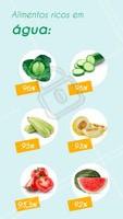 Esses alimentos riquíssimos em água ajudam na hidratação do corpo, trazendo benefícios para a pele, cabelos, unhas e órgãos! #alimentaçao #ahazou #saude #dicasdealimentaçao #hidrataçao