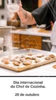 Hoje é o dia daqueles que conquistam o nosso paladar e nos enchem de alegria com seus sabores. Parabéns a todos os Chefs do mundo! #diainternacional #chefs #ahazou #gastronomia