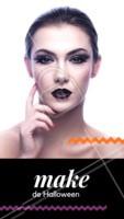 Aproveite para se inspirar e curtir as festas de Halloween! 🎃 #halloween #ahazou #bruxas #festa #maquiagem