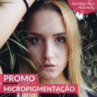 Sobrancelhas desenhadas de forma natural e duradoura. Venha fazer a sua! #sobrancelha #ahazou #micropigmentacao #promo #mulher #linda