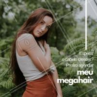E aí, já agendou o horário para aplicar seu megahair? 😉 #megahair #cabelo #ahazou #cabeleireiro