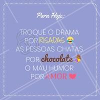 Lema de hoje! Que tal? 😍🍫 #chocolate #ahazou #doce #comida #brigadeiro #doceria #doces