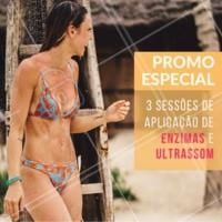 Venha ficar magra e linda para o verão! #esteticacorporal #ahazou #enzima #convite #agenda #promocao #verao