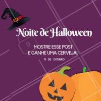 A noite mais horripilante com uma promoção especial! 🧛🏼♂️ #halloween #ahazou #bruxas #promocao #desconto