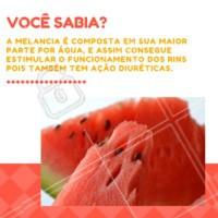 Acrescente em sua dieta a melancia. 🍉 #alimentacao #ahazou #saude #food #melancia #comerbem #vidasaudavel