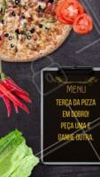 Promoção do dia!! Peça agora a sua pizza. #pizza #ahazou #delivery #alimentacaoahz #food #pizzaria