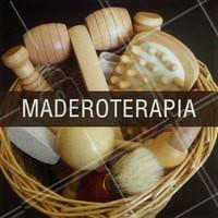 A Maderoterapia é uma técnica de massagem realizada com diversos acessórios em madeira, que tem como objetivo auxiliar na redução de medidas e na melhora do aspecto da celulite, além de promover relaxamento físico e mental.  #maderoterapia #ahazou #massagem