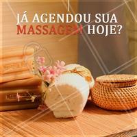 E aí, já agendou aquela massagem especial? Que tal agendar agora? #ahazou #massagem #spa