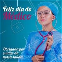 Nossos parabéns e  agradecimento a todos os profissionais da Medicina ♥  #ahazou #saude #diadomedico #medico