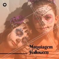 Vai ter festa temática de Halloween? Venha fazer a maquiagem das crianças conosco! #maquiagem #halloween #meninas #festa #garotas