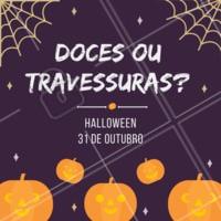 Temos promoções e presente especiais para celebrar a data com você. Venha comemorar! #halloween #ahazou #bruxas #promocao #desconto