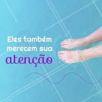 Nossos pés também merecem cuidados. A podologia não funciona somente quando temos algum problema nas unhas ou nos pés. Essa especialidade é um tratamento preventivo. Previna-se e cuide-se! <3 #podologia #podologiacomamor #pes #ahazou #unhas #cuidados #tratamento #prevencao