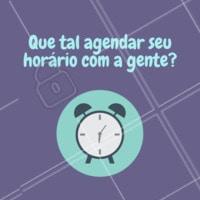 Não perca mais tempo! Agende seu horário e conheça nossos serviços. #agenda #horario #ahazou #secuide #eumeamo