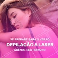 Chega de sofrimento, chega de pelos! Aproveite que o verão está chegando e agende a sua sessão de depilação a laser. #depilacao #laser #ahazou #ahazando #verao #summer