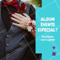 Festa? Casamento? Formatura? Venha se preparar com a gente! Faça as unhas e fique ainda mais linda. #unhas #nails #ahazou #manicure #pedicure #festas #casamento