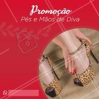 Aproveite nossa promoção e venha fazer suas unhas como uma DIVA! #ahazou #nails #unhas #manicure #promocao