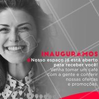 Uhu ♥  É dia de comemoração e alegria. É dia de inauguração! #ahazou #inauguracao