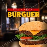 Que tal um delicioso hamburguer hoje em???  🍔 #ahazou #hamburguer #burguer