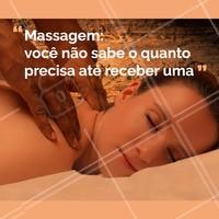 Venha fazer sua massagem e ver o quanto seu corpo estava precisando #massagem #ahazou #massoterapia