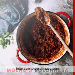 O molho à bolonhesa é uma opção maravilhosa para acompanhar uma massa fresca, e um belo vinho. Vocês gostam? #molho #macarrão #ahazoutaste #ahazou #massa #vinho