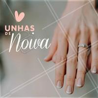 A unha no estilo francesinha é a mais escolhida entre as noivas. Faça com a gente! <3 #unhas #nails #ahazou #casamento #noivas #manicure