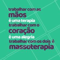 É um privilégio! #massagem #ahazou #massoterapia