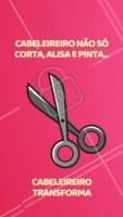 Essa é minha missão: transformar a autoestima das minhas clientes 💇 #cabelo #ahazoucabelo #cabeleireiro #motivacional #autoestima