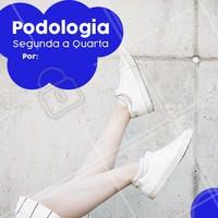 De segunda a quarta temos um precinho especial para você. Aproveite e agende o seu horário! #podologia #ahazoupodologia #ahazou #promocao #desconto