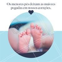 Existe coisa mais apaixonante que esses pézinhos? #podologia #podologiacomamor #ahazou #ahazoupodologia #pes #babys