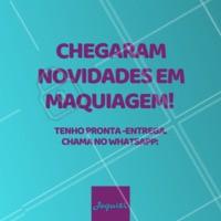 Tenho muitas novidades para você. #revendedora #ahazou #ahazourevendedora #maquiagem #make #mulher #bonita #produtos