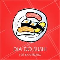 Quem também ama sushi? <3 #sushi #diadosushi #ahazou #ahazoutaste #japones