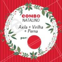 O ano passou voando, e o natal já está chegando. Se prepare e agende seu horário com a gente! #natal #depilacao #ahazoudepilacao #ahazou #promocao