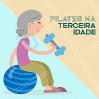 O pilates na terceira idade pode evitar e tratar diversas patologias. Os movimentos do pilates trabalham todo o corpo e auxiliam para a prevenção de doenças ajudando a fortalecer, garantindo um maior condicionamento. #Pilates #ahazou #ahazoufisioterapia #fisioterapia