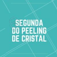 Segunda é dia de renovar a pele com seu peeling favorito! Aproveite o preço especial só nessa segunda-feira. #peeling #ahazou #esteticafacial